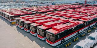 Noticias de Mercado Busworld Kortrijk que se celebra cada dos años se convoca en el Centro de Exhibición de Cortrique desde el día 20 hasta el 25 de octubre.Es una feria de autobuses con una escala mundial más grande y una historia más larga donde se unen unos fabricantes de autobuses, de piezas y usuarios del todo el mundo.