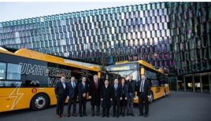Yutong Entrega los Primeros Autobuses Eléctricos Puros en Islandia, Iniciando la Nueva Era de Transporte Verde de Islandia